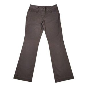 4/$30 Jacob Mid Rise Boot Cut Flared Brown Pants